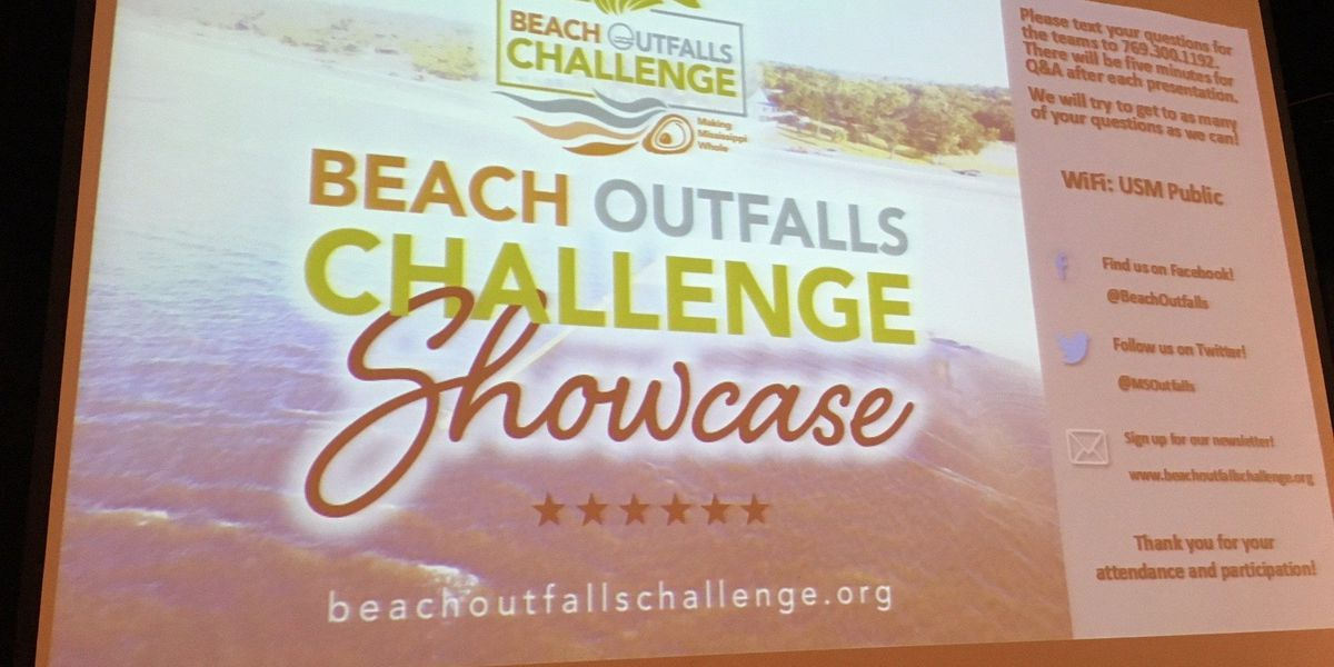 Outfall Challenge could lead to a cleaner Mississippi Sound
