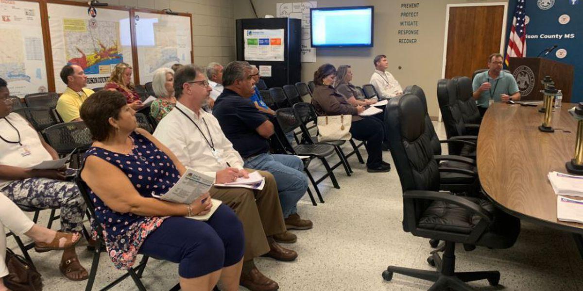 Harrison County county leaders prepare for upcoming hurricane season