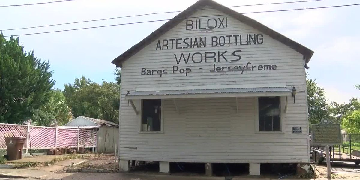 Work underway to restore historic Keller Avenue Barq building