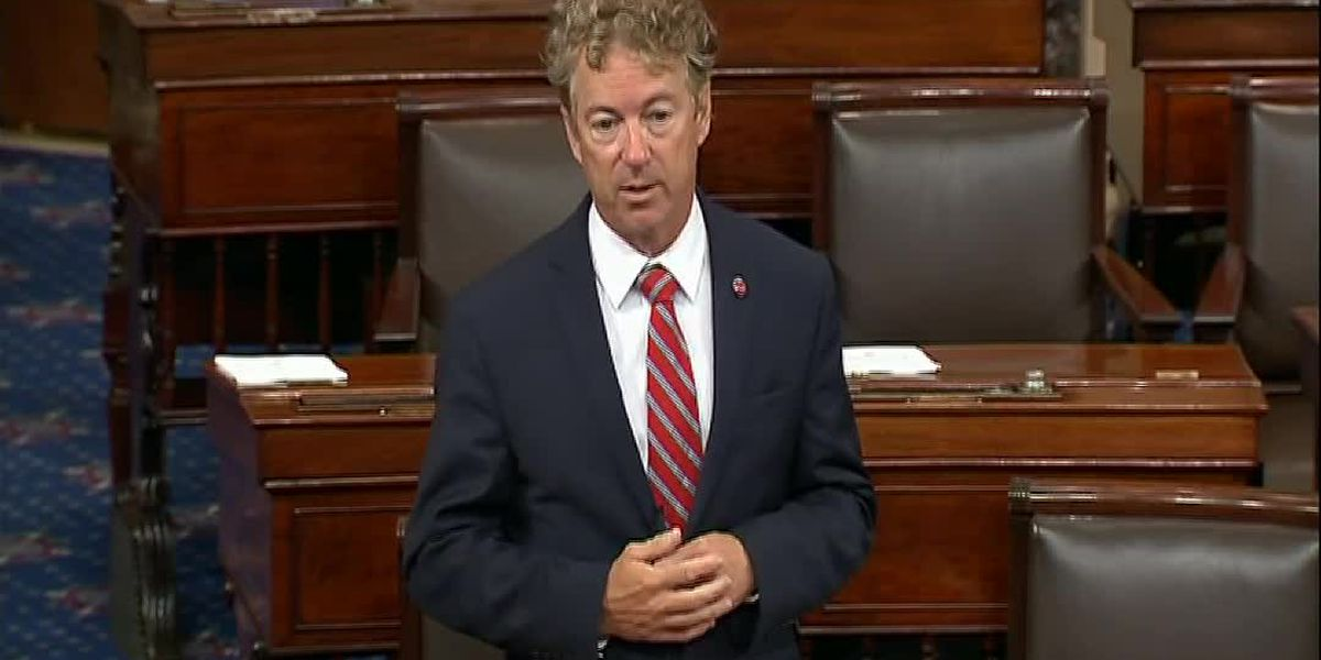 Rand Paul blocks Senate vote on 9/11 victim compensation fund
