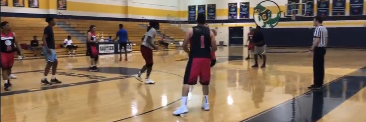 Dozens hit the court in memorial basketball tournament