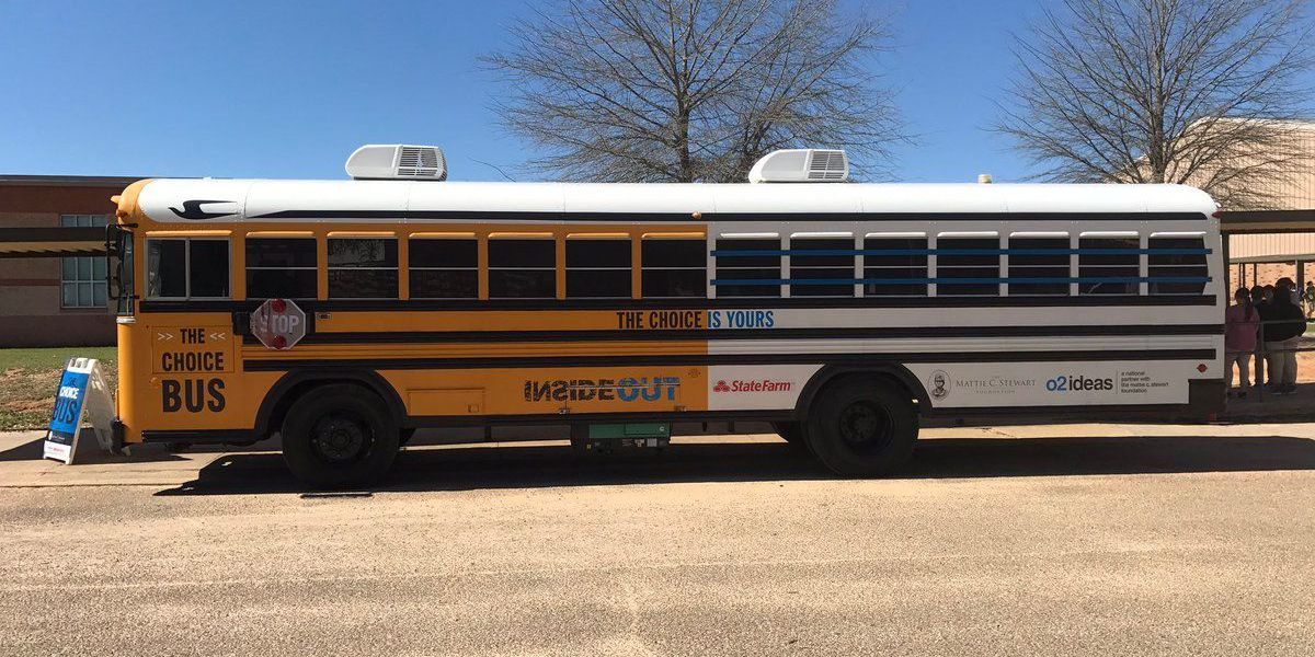 Choice Bus stops in Poplarville