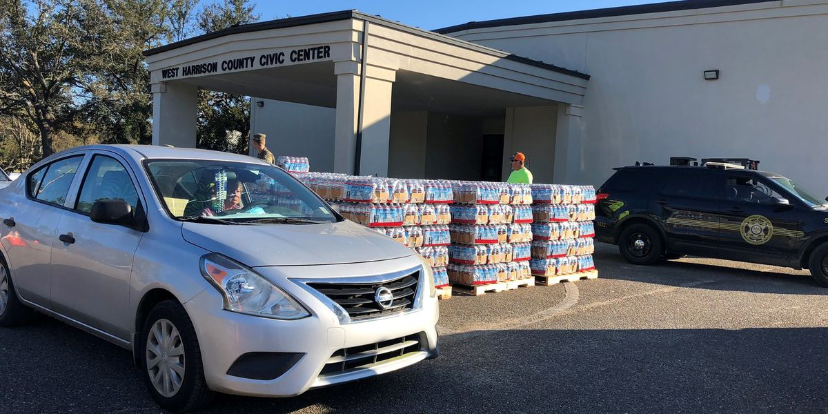 Residents find resources at Long Beach MEMA distribution site