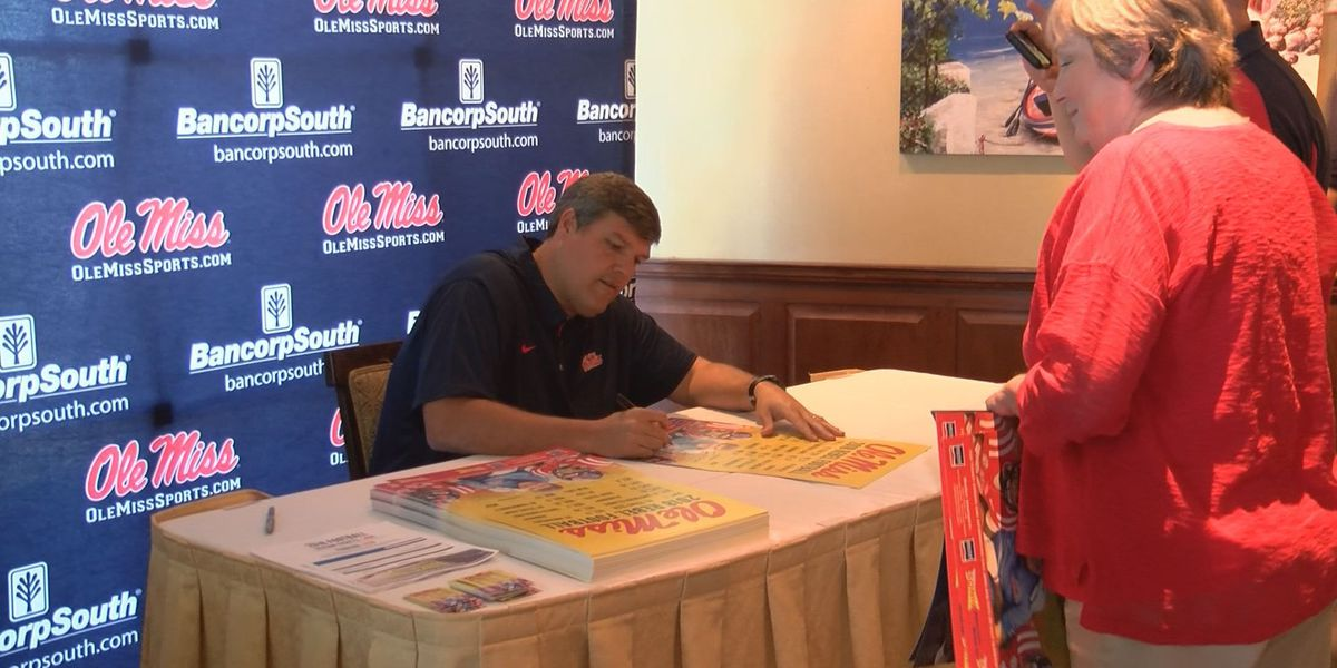 Rebels head coach Matt Luke returns home to Gulfport for Ole Miss Road Trip