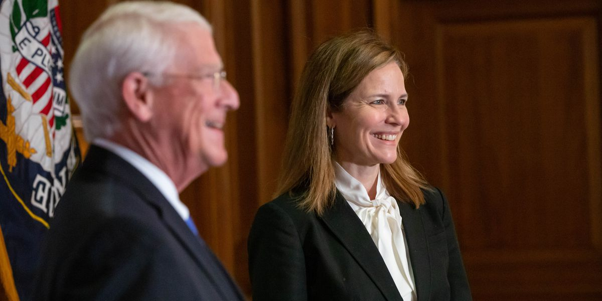 Sen. Wicker to Judge Coney Barrett: You will be an inspiration to my granddaughters