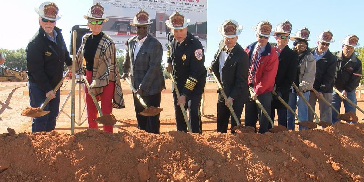Gulfport breaks ground on new fire station in Orange Grove