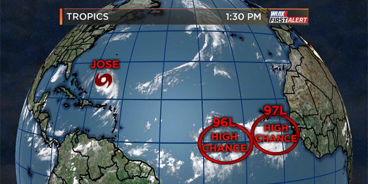 Two tropical waves to watch in the Atlantic