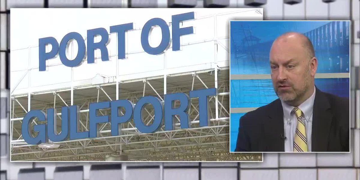 Port of Gulfport CEO Jonathan Daniels talks restoration, expansion