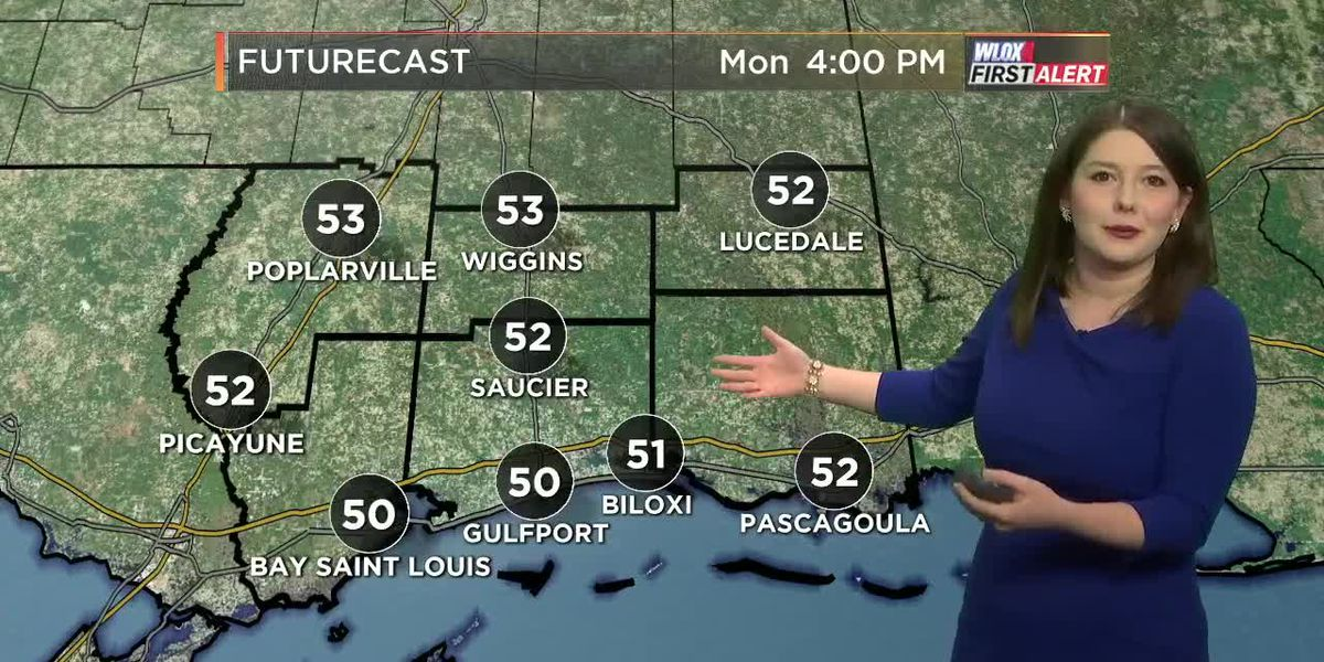 Taylor's Monday Midday First Alert Forecast