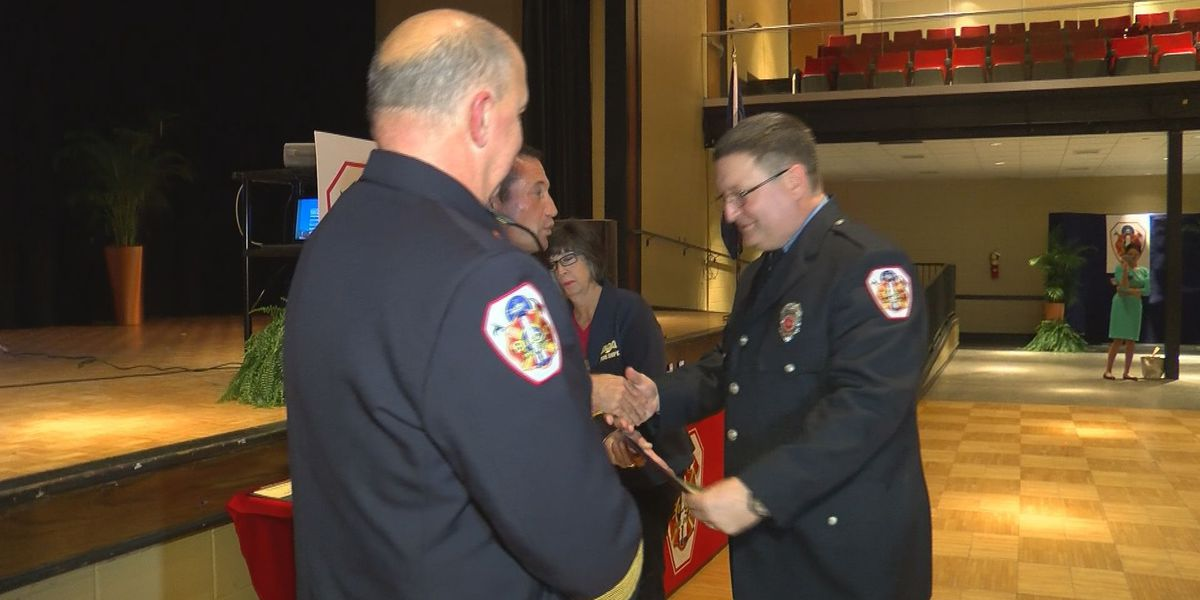 Biloxi firefighter department holds first ever award ceremony