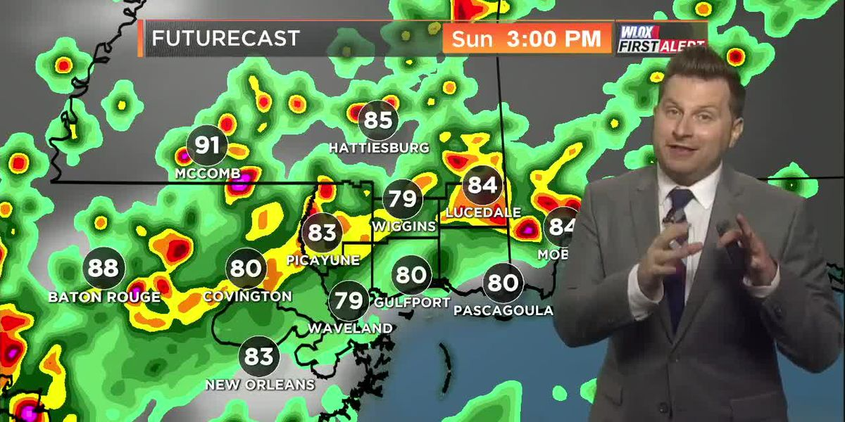 Eric's First Alert Forecast 7.20.19