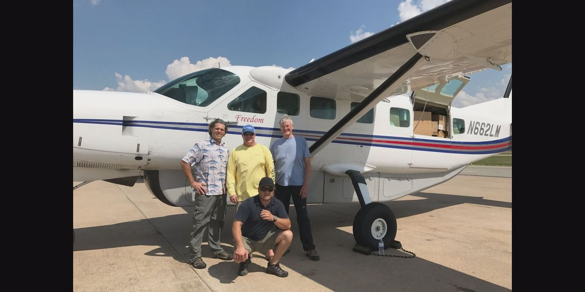 South Mississippi Strong: Pass Christian pilot uses plane to fly the sick and needy for free