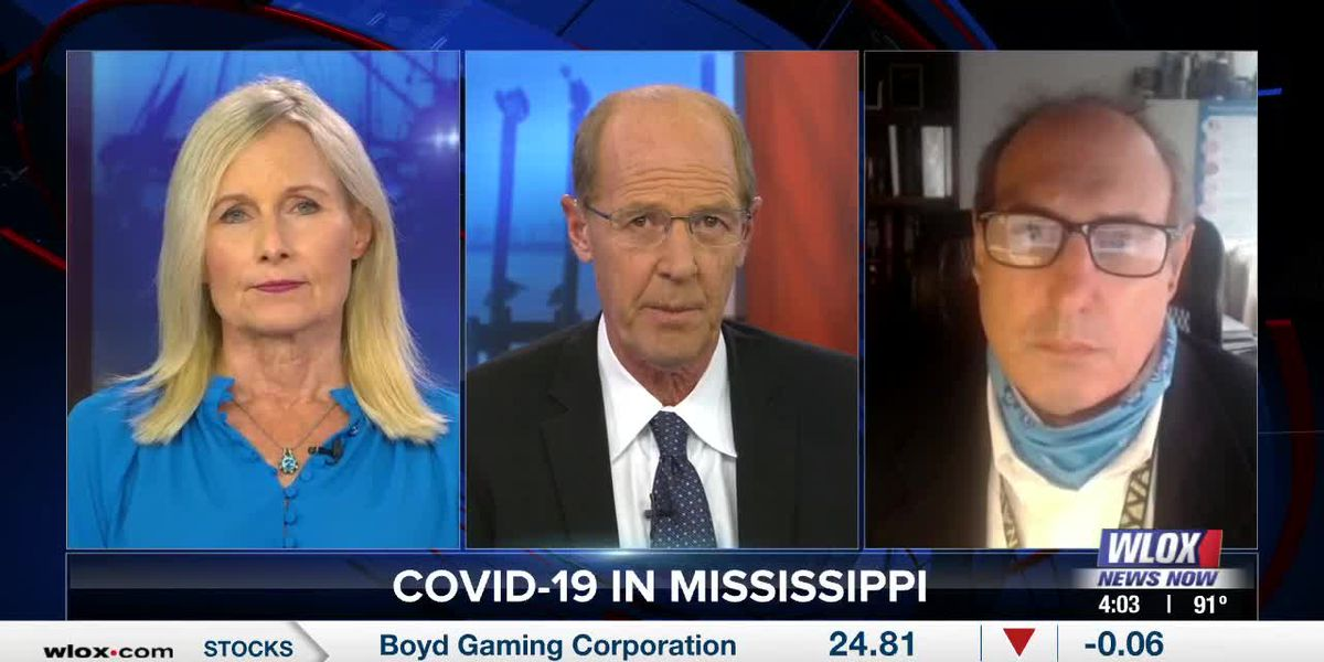 Dr. Paul Byers on COVID-19 in Mississippi