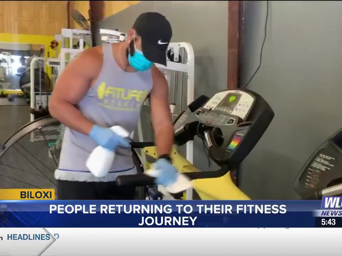 People return to fitness after months off due to pandemic shutdowns