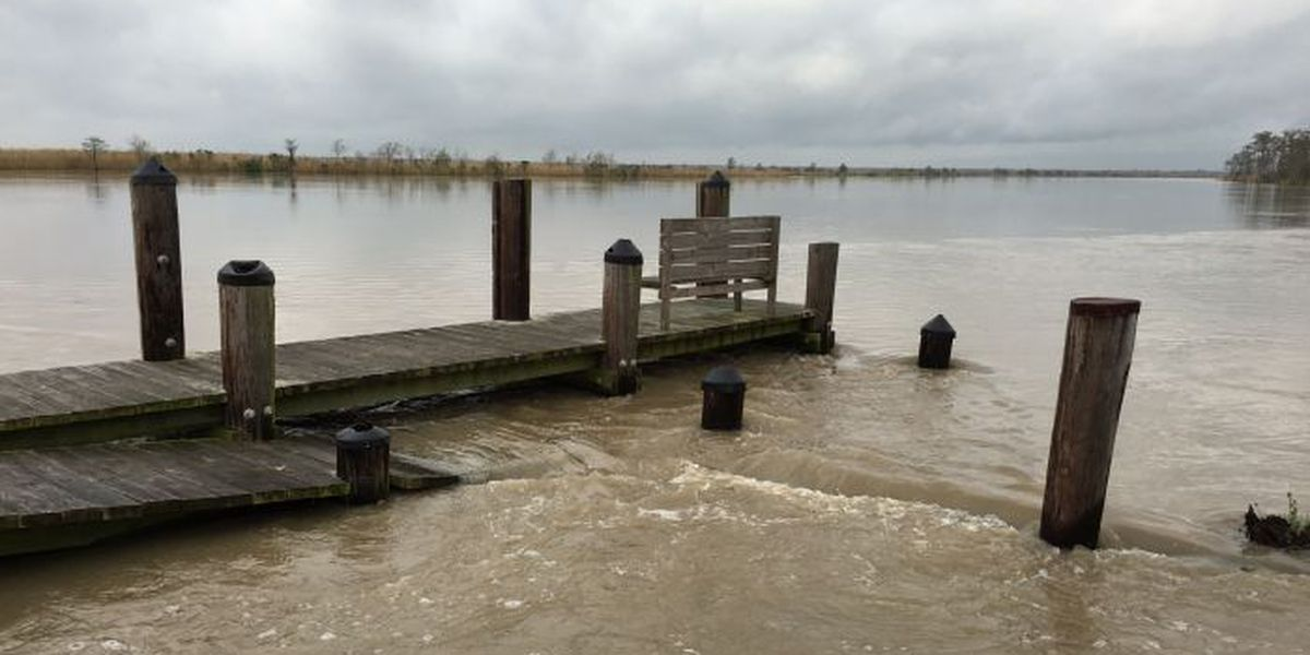 Flood waters still affecting many in South MS