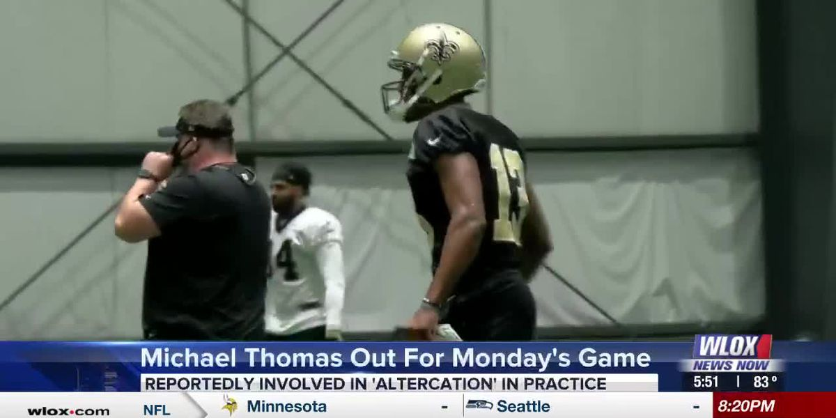 Michael Thomas out for Monday's game