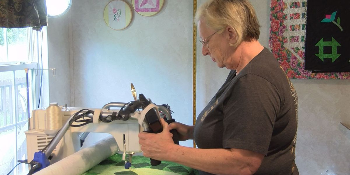 Vancleave resident sews quilts for La. flood victims