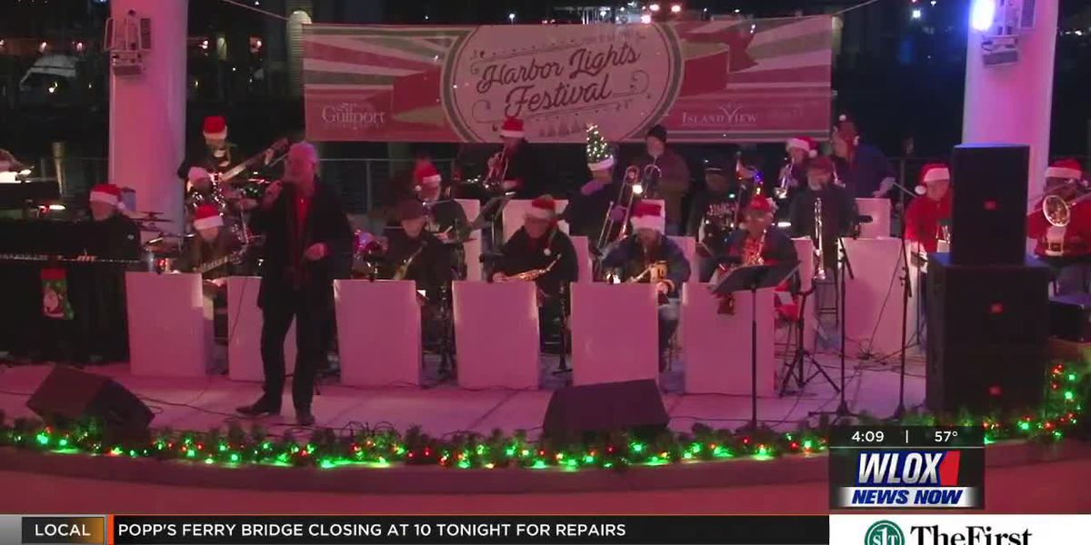 Happening Dec. 15th - The Coast Big Band performs at the Harbor Lights Festival