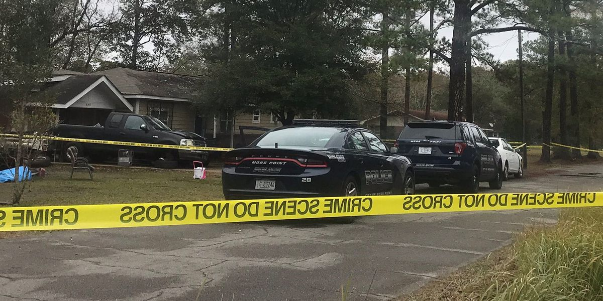 Two victims identified in Moss Point double homicide, 3rd victim remains in critical condition