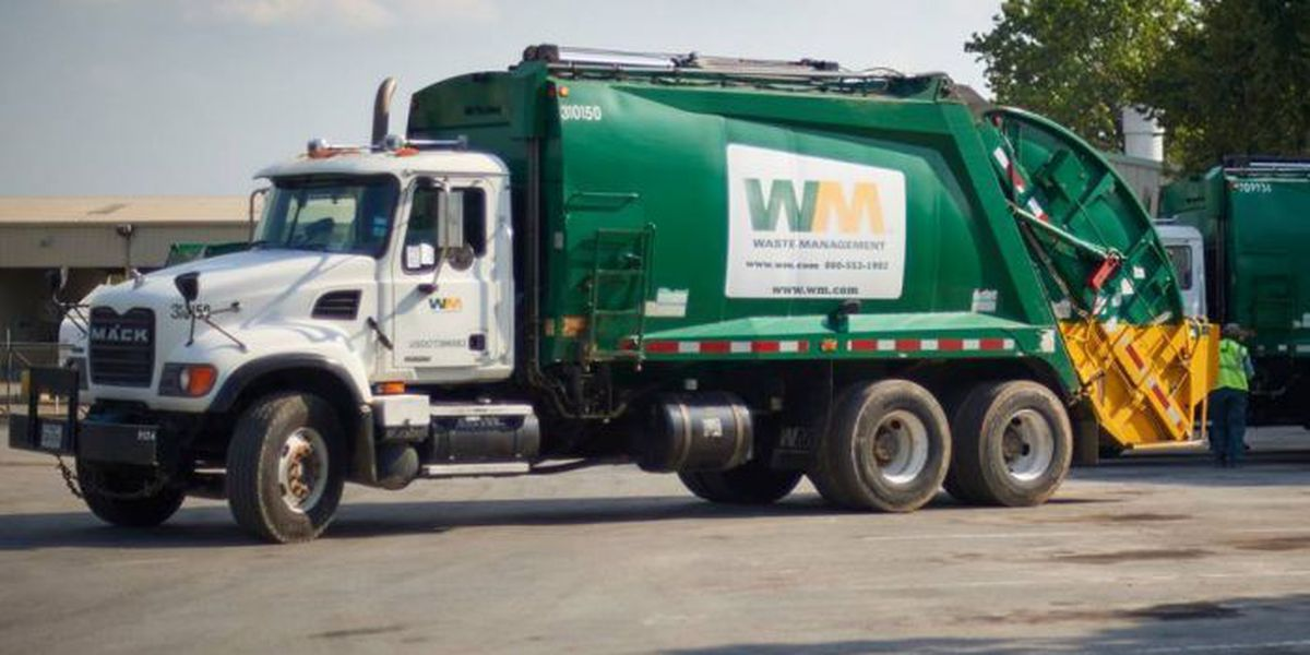Here's when you can put out your trash this week
