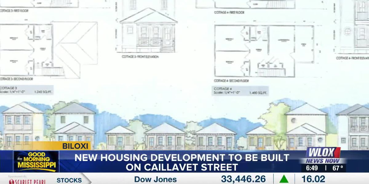 New housing development to be built on Caillavet Street in Biloxi