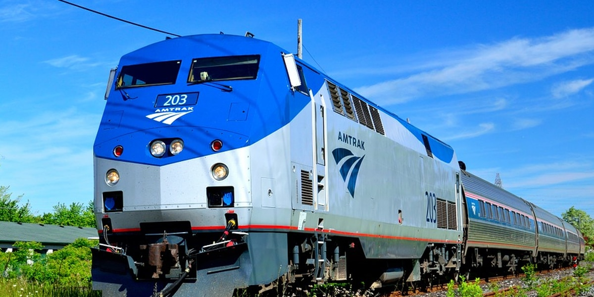 All aboard the new Amtrak passenger platform in Picayune