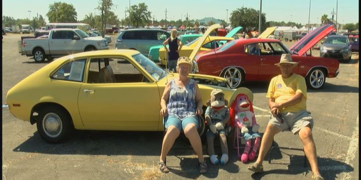'72 Ford Pinto catches eyes at 26th Annual Gautier Mullet and Music Fest