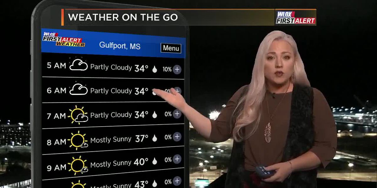Carrie's GMM First Alert Forecast