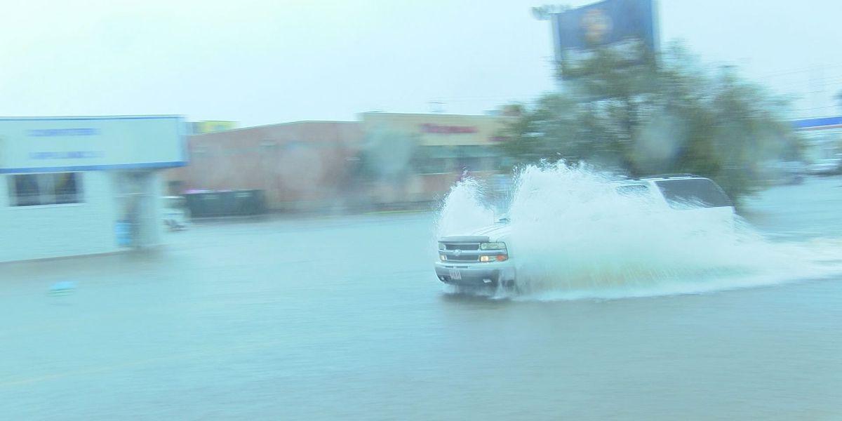 Long Beach homes flood during heavy rainfall