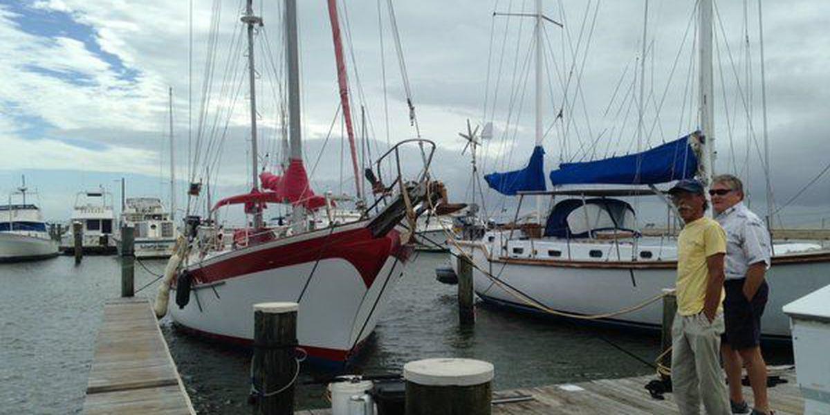 Boats on Long Beach Harbor take hard hit