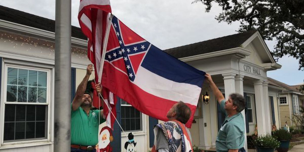 Protest planned against MS state flag in Ocean Springs