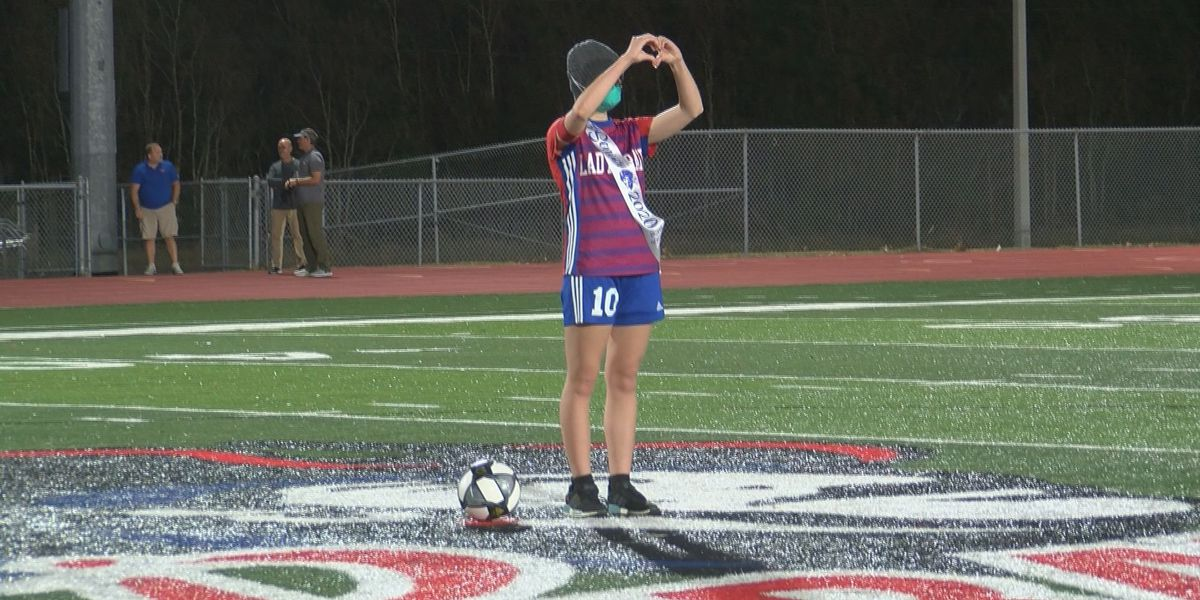 Pass Christian holds special Senior Night for teen athlete diagnosed with cancer