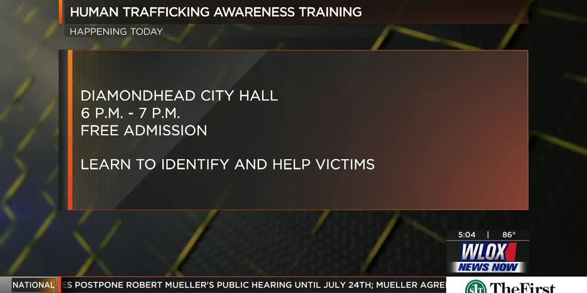 LIVE REPORT: Human trafficking awareness training in Diamondhead