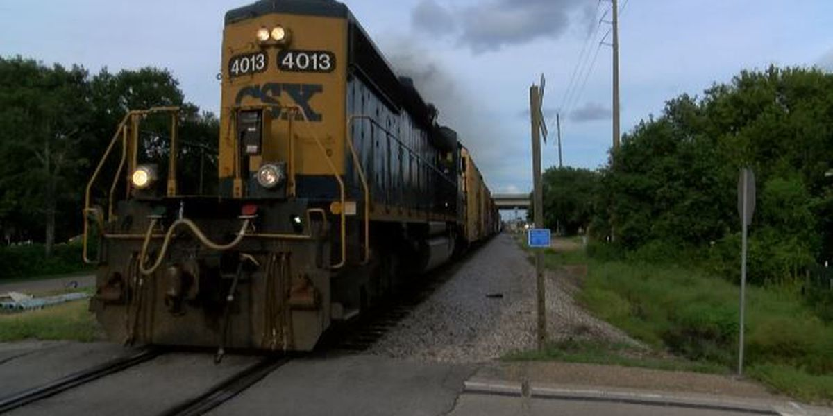 First responders train for disaster on the tracks