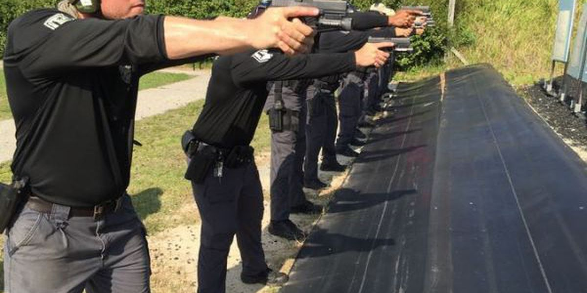 Gulfport PD receives donated firearm training session