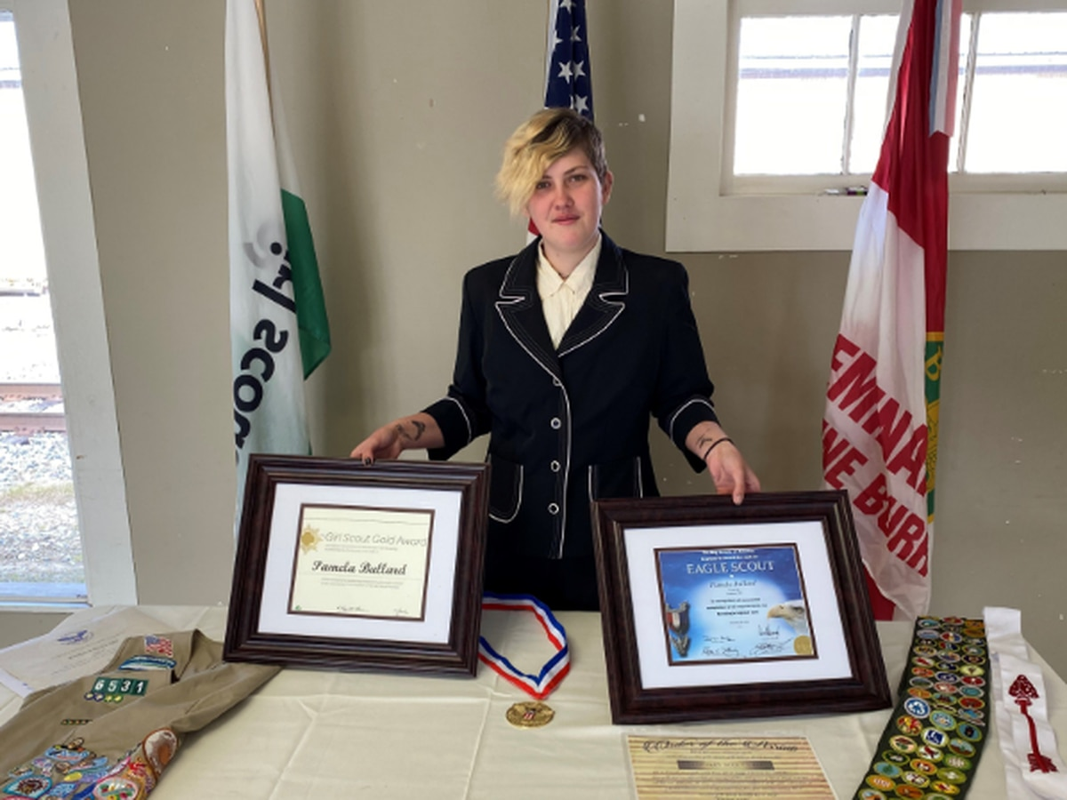 Covington Co. teen becomes 1st in Miss. to earn top marks in both Boy Scouts, Girl Scouts