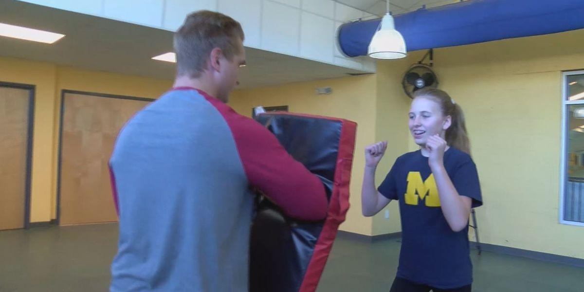 Coast women learn to fight back in self-defense class