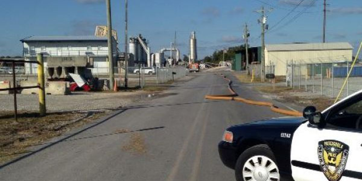 Fire causes minor damage to plant in Pascagoula