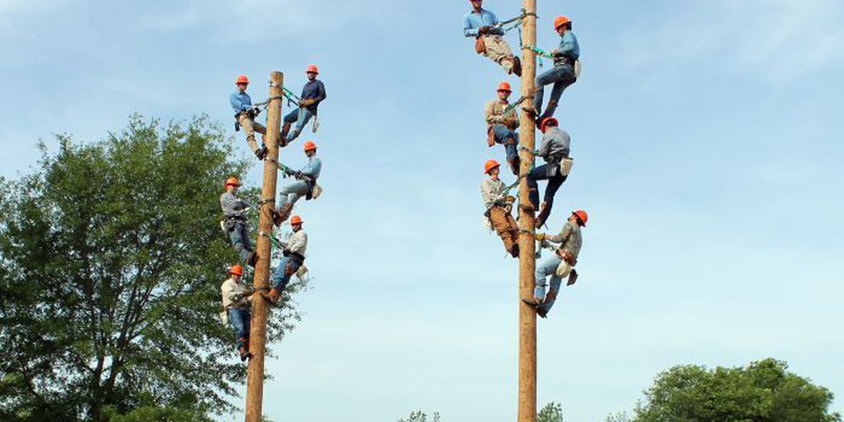 Remember to #Thankalineman for your power