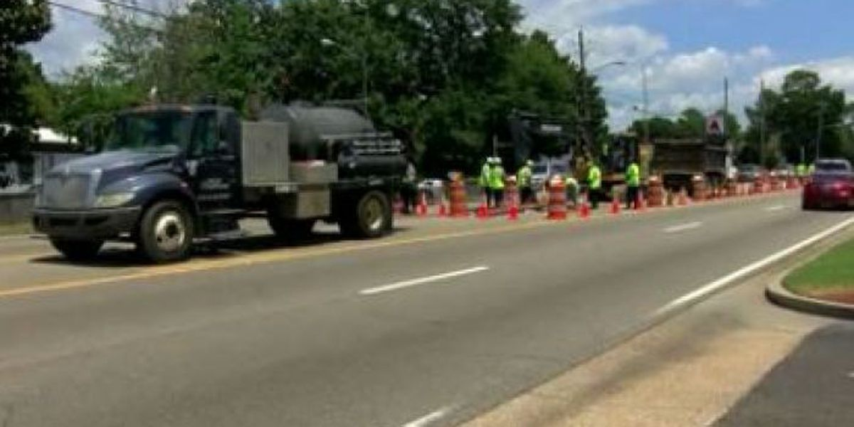 Westbound lanes of Pass Rd. closed to repair road cave in