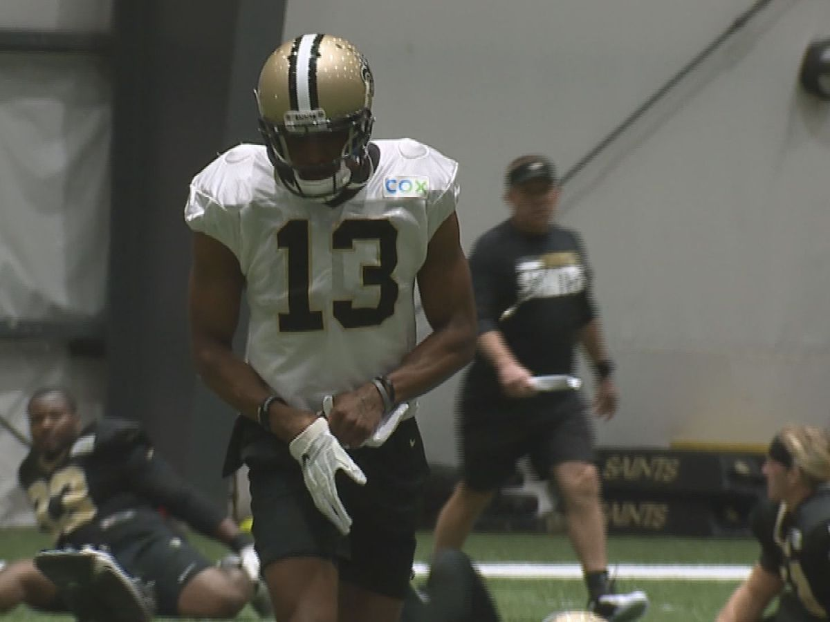 Michael Thomas returns to practice on limited basis