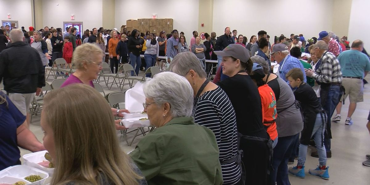 Feed the Needy brings out thousands of volunteers