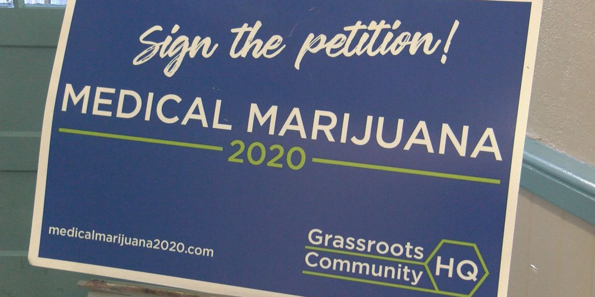 Petition with over 100,000 signatures to legalize medical marijuana in Miss. submitted to Secretary of State's office
