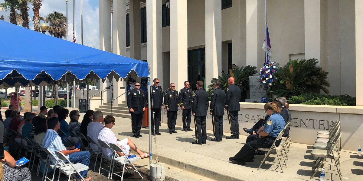 Gulfport remembers fallen officers in memorial ceremony