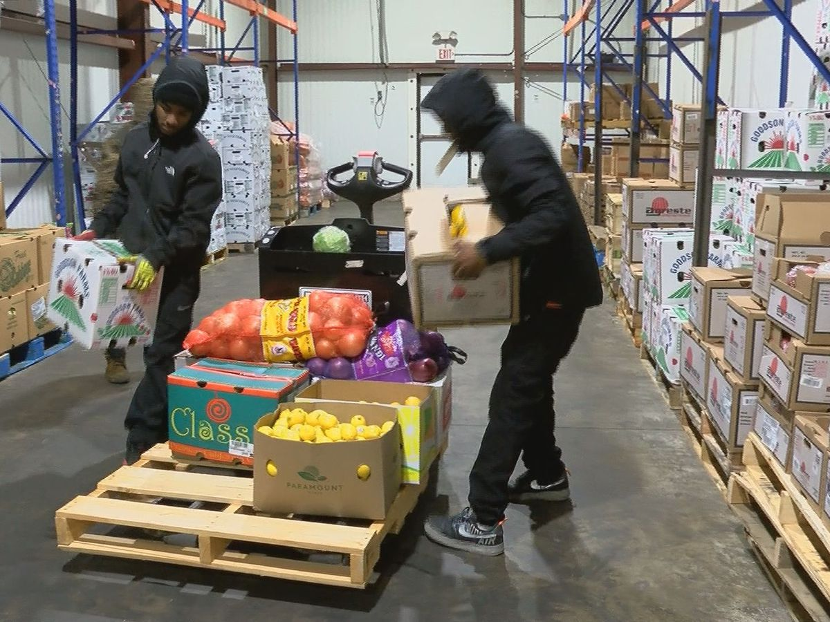 Freezing weather slows food shipments to and from Coast