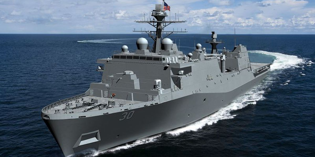 Ingalls awarded $1.47 billion contract to build U.S. navy ship