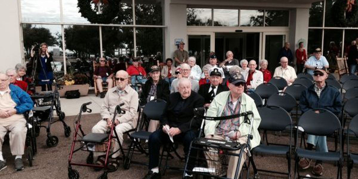 Veterans remember Pearl Harbor just days before its 73rd anniversary