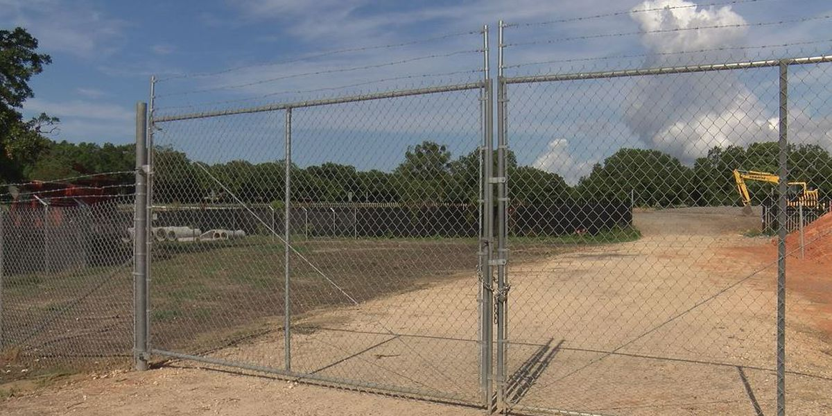 New Keesler AFB main gate making progress but existing businesses taking hit