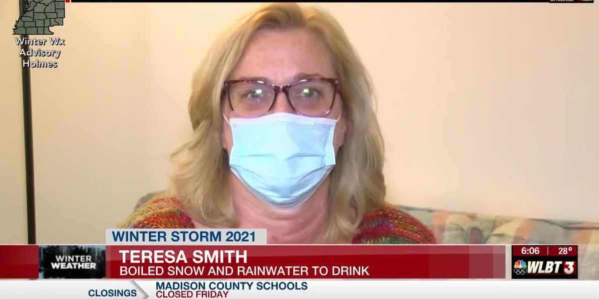 Jackson woman who melted snow to take medication still without water