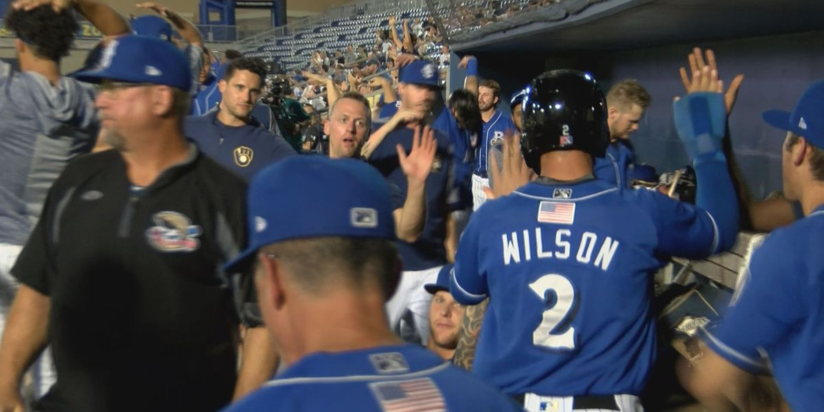 Shuckers win 9-7 behind Aviles perfect night from the dish